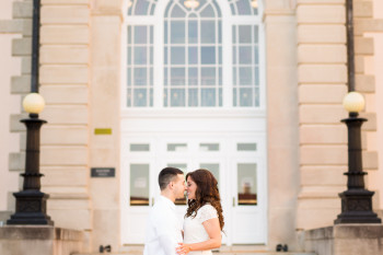 Ft Benning, GA classy engagement photos