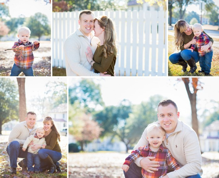 Fall Family Session in the Leaves Neutral Colors | www.hannahandrandall.com